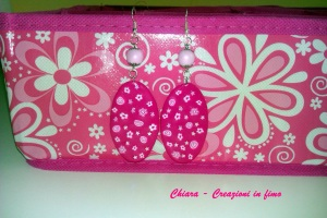 orecchini pink